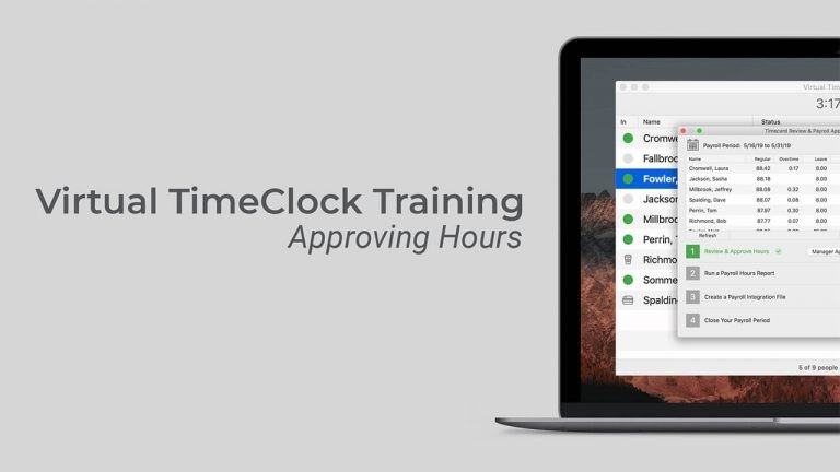 Approving Hours video thumbnail