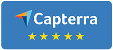 Capterra badge reviews logo