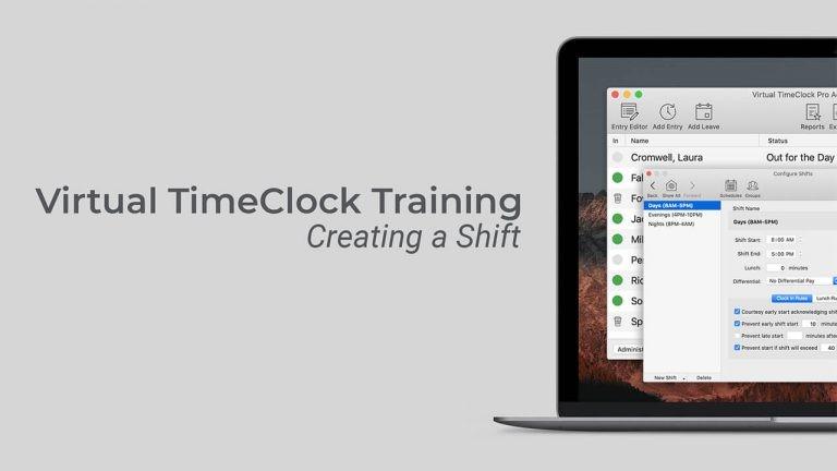 Create a shift thumbnail