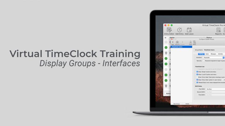 Display Group Interfaces video thumbnail
