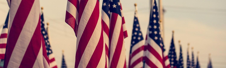 Memorial Day 2020 flags