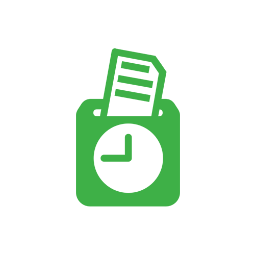Timecard icon