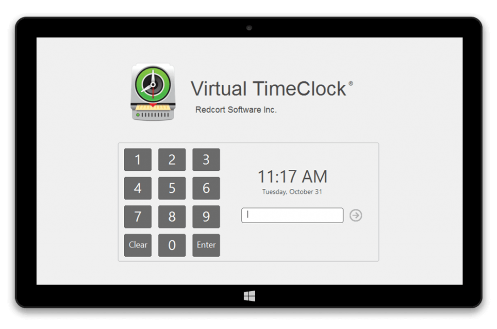 Employee timesheets software with Kiosk Mode for tablets
